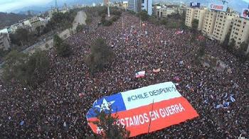 Más de un millón en Santiago contra Piñera. La más grande manifestación desde Allende