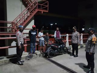 Cegah Kriminalitas Pada Objek Vital, Polisi Berpatroli Di Bendung Gerak Tempe Wajo