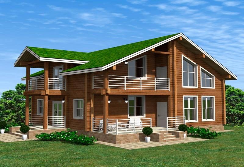 Деревянный дом Севастополь цена