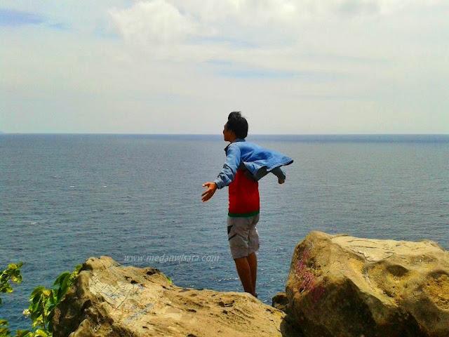 Lautan yang berada di dekat Titik Nol Kilometer Sabang