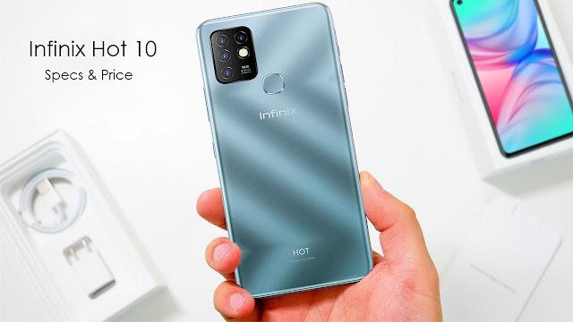 مراجعة هاتف Infinix Hot 10 صاحب أكبر شاشة وبطارية في فئته السعرية !