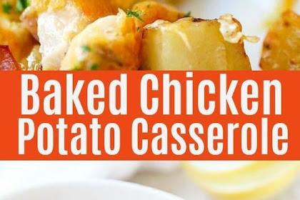 Baked Chicken and Potato Casserole