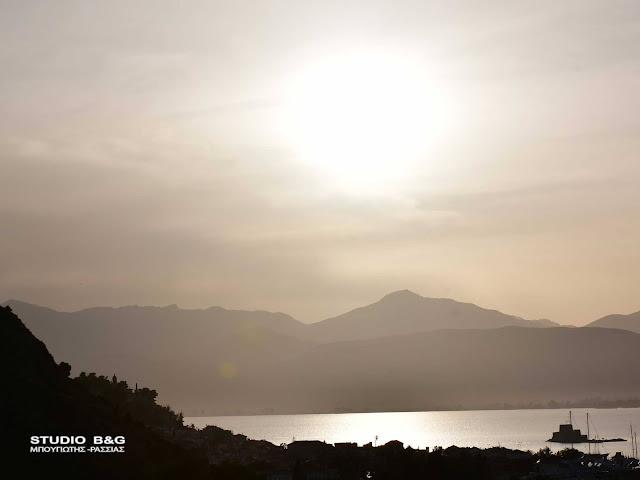 Με ζέστη και αφρικανική σκόνη το Πάσχα στην Αργολίδα