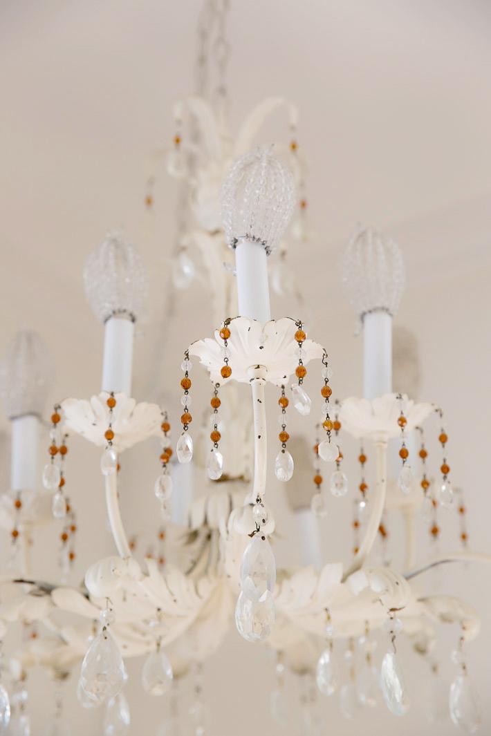 vintage tole chandelier
