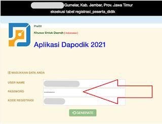generate prefil dapodik 2021c