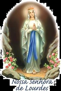 Nossa Senhora de Lourdes - Lurdes - Patrocínio-mg Witian Blog - santo católico santo do dia