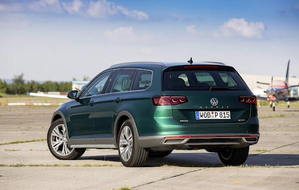 Volkswagen Passat de 9ª geração chega em 2023, com motores térmicos