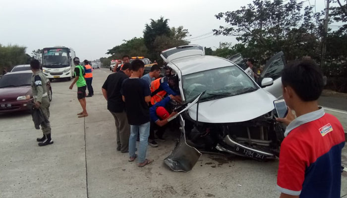 Nia Daniaty Tidak Bisa Bicara Sejak Kecelakaan