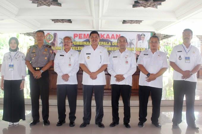 Pembinaan Kades Dalam Rangka Penyelenggaraan Pemerintahan Desa Kabupaten Mojokerto