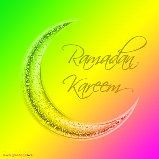 ramadan crescent moon  background Ramadan Kareem Ramadan Eid 2019 greetings