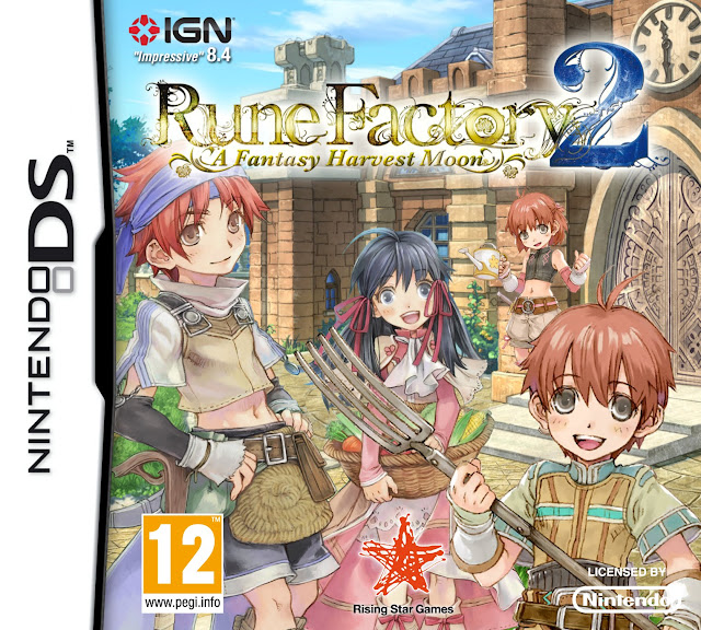 rune factory fantasy harvest moon