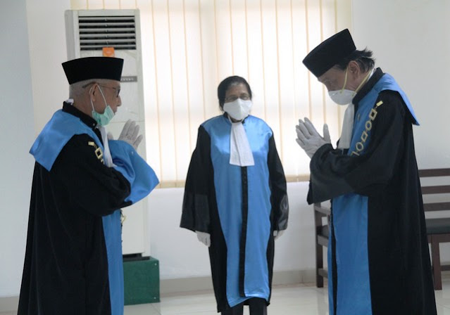 Pelantikan Ketua PTUN Serang 2020