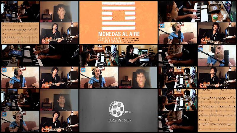 Ernesto Blanco & Adrián Berazaín & Eddy Cardoza - ¨Monedas al aire¨ - Videoclip - Coda Factory. Portal Del Vídeo Clip Cubano