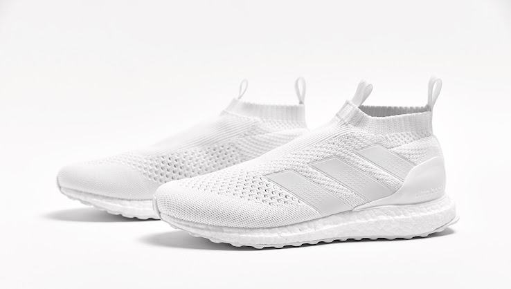 adidas PureControl Ultra Boost Triple White Sneaker Bar