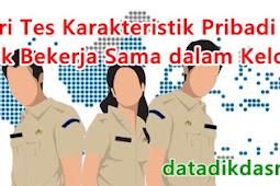 Materi Tes Karakteristik Pribadi (TKP) Aspek Bekerja Sama dalam Kelompok