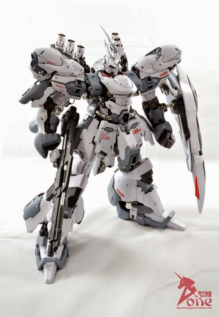 Custom Build Gmg 1 100 Msn 04 Formania Sazabi Conversion Gundam Kits Collection News And Reviews