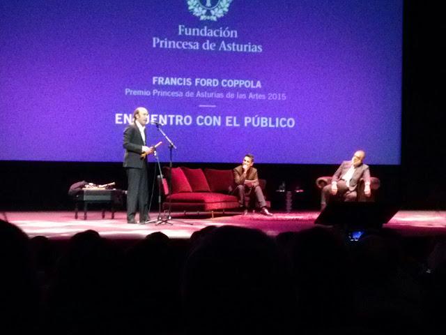 Coppola y Carlos Núñez