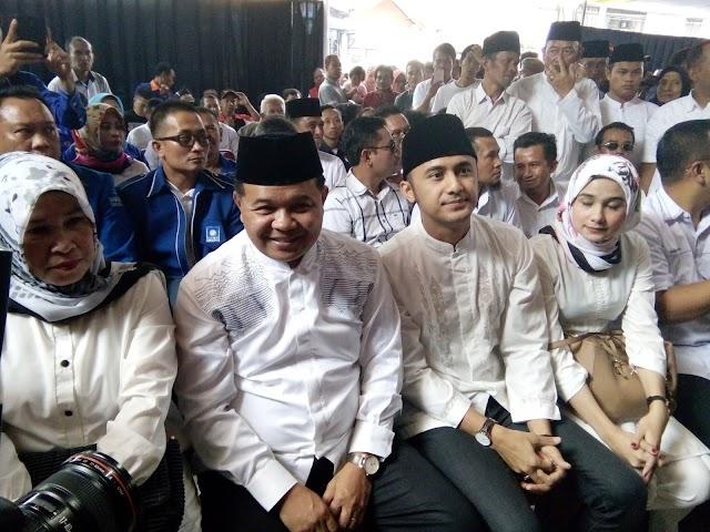 """Daftar ke KPU """"AKUR"""" Maju Pilkada Bandung Barat di Usung 5 Partai"""