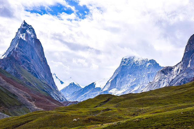 Siachen Glacier at Saltoro
