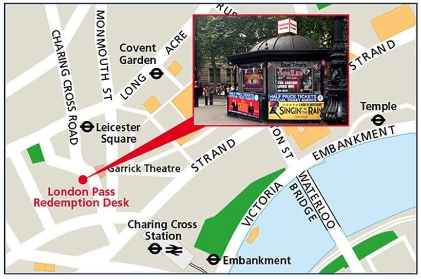 Mapa - London Pass: vale a pena comprar? Como usar