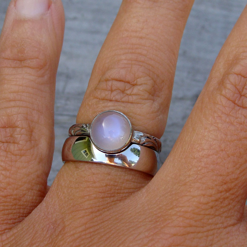 new work 8 moonstone wedding ring sets Ethically sourced moonstone and recycled palladium engagement ring and wedding band