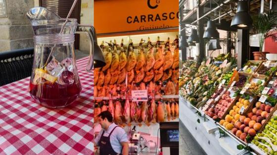 Onde Comer em Madrid mercado de san Miguel