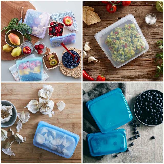 Oppbevar, frys, kok eller stek maten din i Stasher poser Foto: Stasher Bags