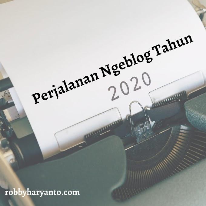Perjalanan Ngeblog Tahun 2020