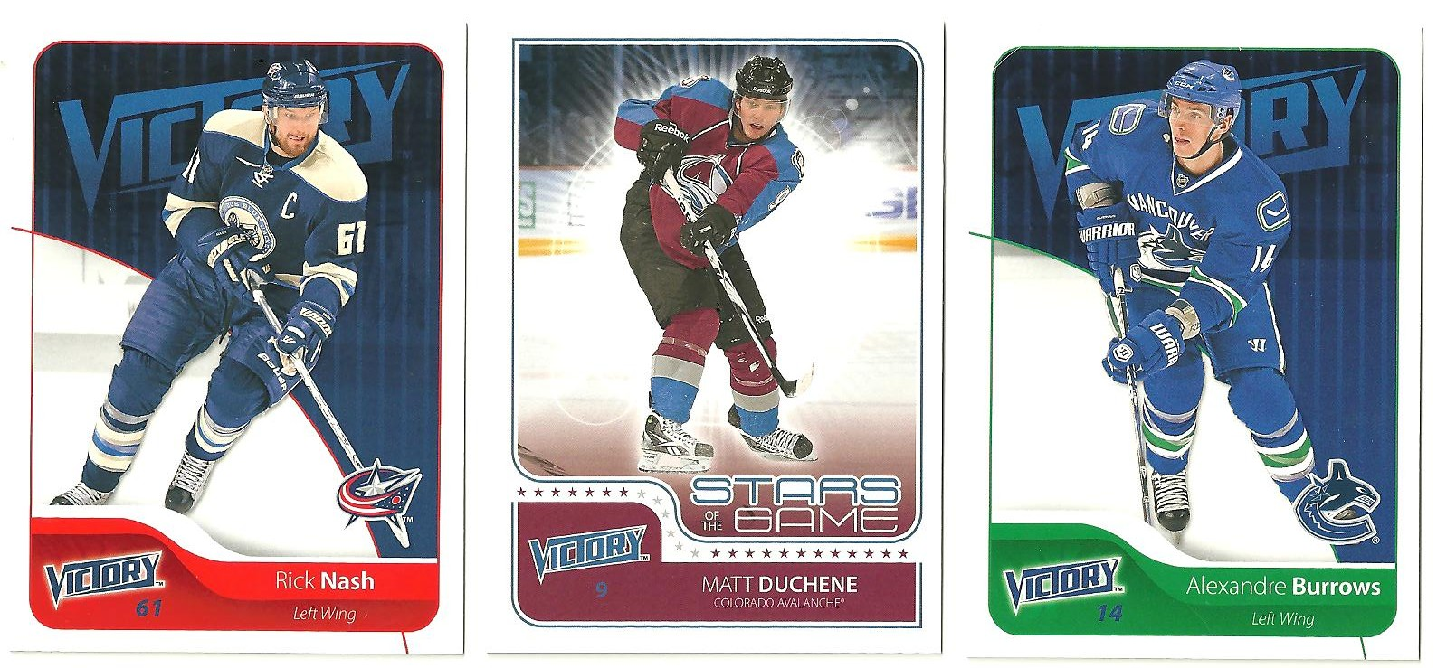 cbdac10d096 Rick Nash - 56. This Nash card is an example of what I mean by  clear cut  of the players on the card . For some reason the card just seems to flow.