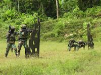 Pertajam Insting Tempur, Yontaifib 3 Marinir Pasmar 3 Lalsanakan Latihan Menembak