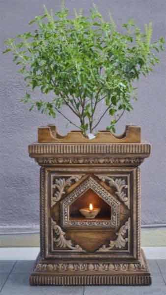 Where to Keep Tulsi Plant in a Hindu Home?