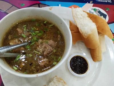 Resepi Sup Tulang Kambing Makan Dengan Roti