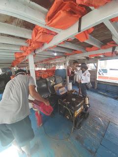 KSOP Kepulauan Seribu Pro Aktip Ramp Check 8 Kapal Ke Lokasi Kapal Sandar