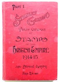 Stanley and Gibbons postimerkkiluettelo 1914