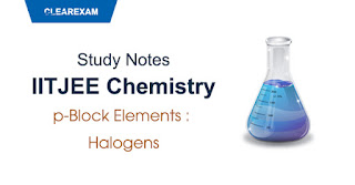 p-Block Elements - Halogens