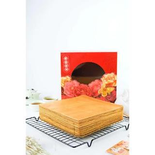 Kue Lapis legit untuk Perayaan Imlek
