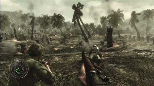 Call of Duty: World at War - Xbox 360 - Captura 1