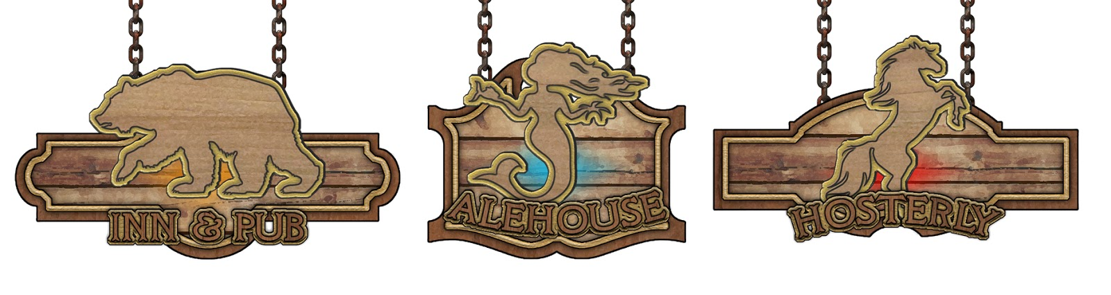 Justin Andrew Mason - Paths to Adventure: Random Tavern Sign