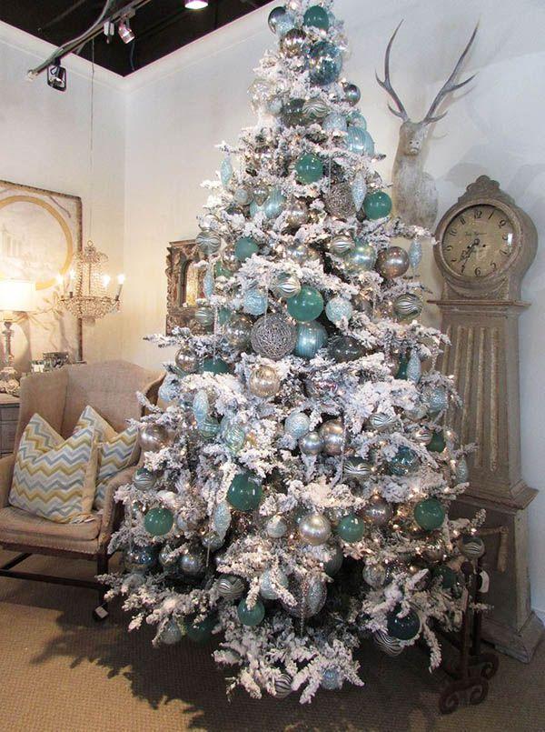 20%2BDIY%2BModern%2BChristmas%2BTree%2BDecorations%2Bfor%2BInspiring%2BWinter%2BHolidays%2B%252813%2529 20 DIY Trendy Christmas Tree Decorations for Inspiring Iciness Vacations Interior