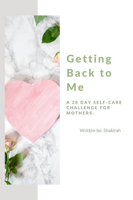 Getting Back to Me    Is a 28-day challenge that will help you establish a simple yet powerful self-care routine.