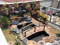 Jasa pembuatan kolam air terjun tebing di pacitan, trenggalek, dan ponorogo - jasa kolam dekorasi relief tebing