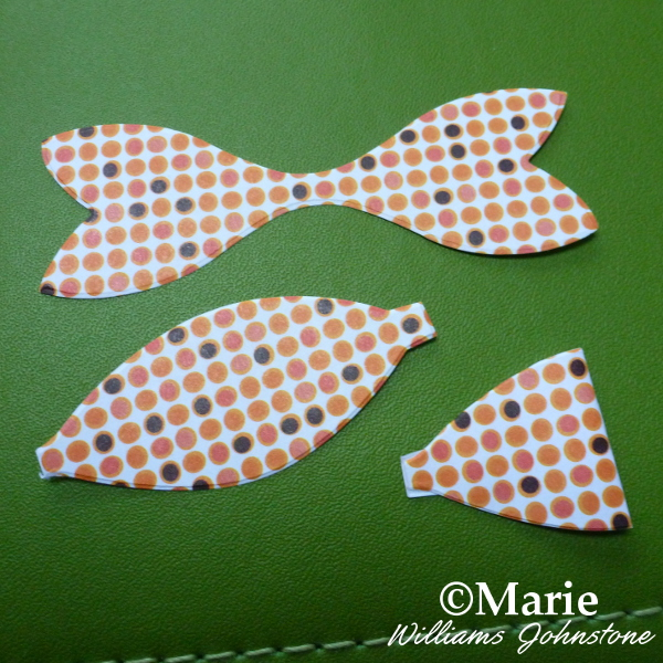 Cut Sizzix bow paper pieces from Easter egg Bigz die Big Shot