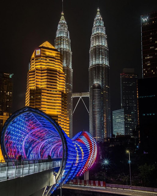 Saloma Link, Tarikan Wisata Terbaru di Kuala Lumpur Malaysia