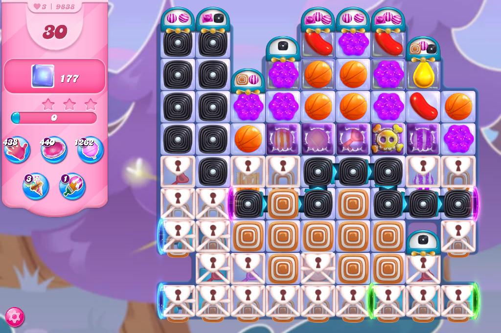Candy Crush Saga level 9838