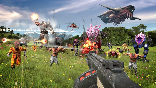 Serious Sam 4 review, good old Sam is back