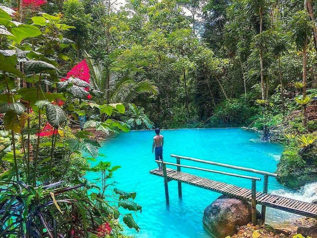 Pesona air terjun Kulon Progo Kembang Soka yang menakjubkan ...