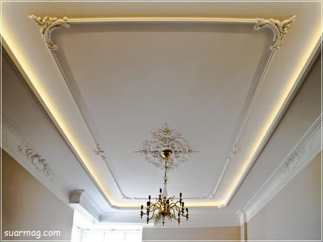 اسقف جبس بورد حديثة غرف نوم 10   Bedrooms Modern Gypsum Ceiling 10