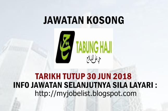 Jawatan Kosong di Lembaga Tabung Haji (TH)