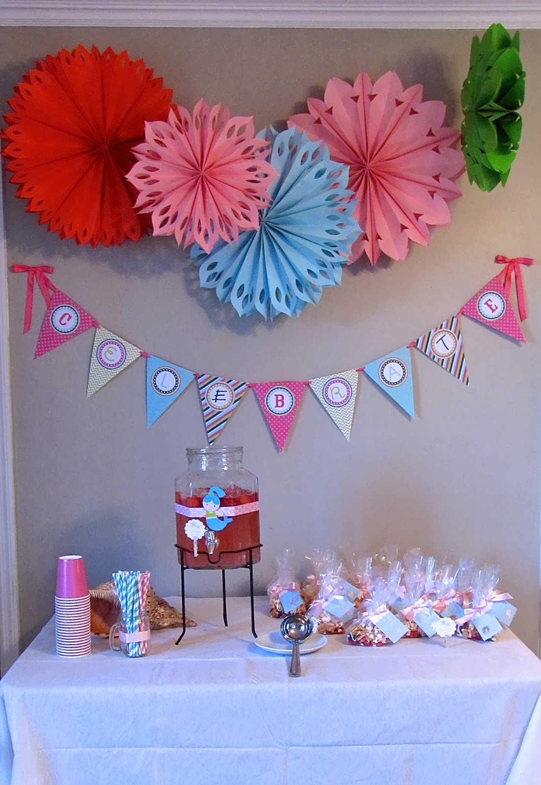 birthday party decorations for girls