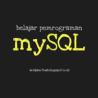 belajar syntax mySQL dasar